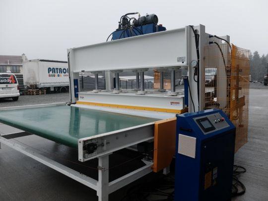 Prasa hydrauliczna - przelotowa STETON