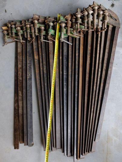 Ścisk stolarski 70-79 cm