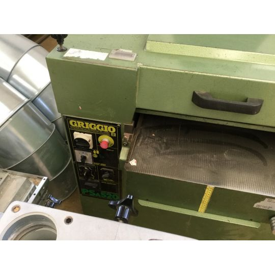 Grubościówka, Strugarka GRIGGIO PS 520 (dostępność maszyny do 2 tygodni)